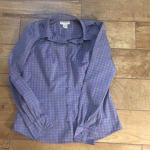 Banana republic button up top Sz M